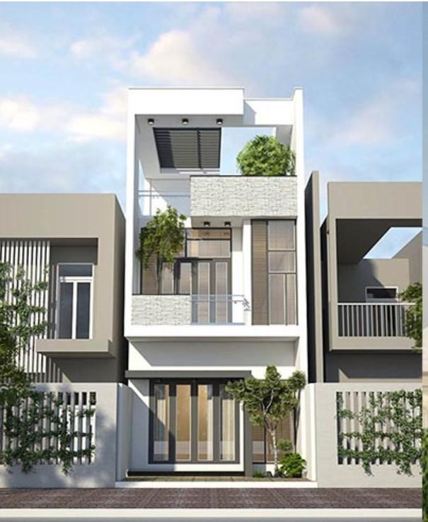 Ngôi nhà 2 tầng với diện tích 100m2 hiện đại và sang trọng