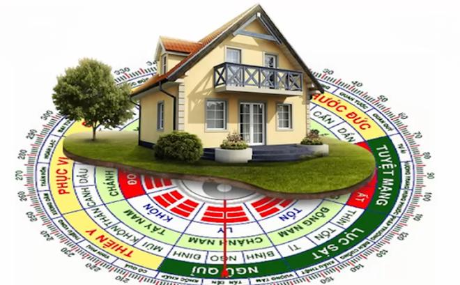 Phong thủy xem tuổi làm nhà - xem hướng nhà