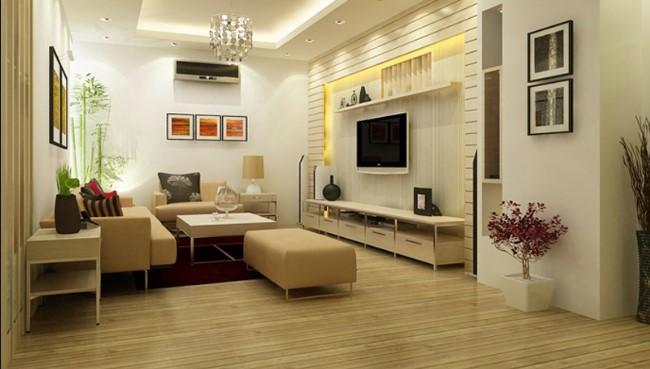 Thiết kế phòng khách hiện đại đơn giản